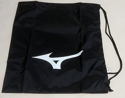 ミズノ[MIZUNO]サマーバッグ(プールバッグにオススメ♪片紐ナイロン製巾着袋/マルチバッグ)裏地加工ビニールきんちゃく大)(33JM820809)