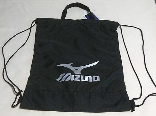 ミズノ[MIZUNO]サマーバッグ(プールバッグにオススメ♪PU製ナップサック/ランドリーバッグ)裏地加工ビニール巾着大(きんちゃく大)(33JM720709)