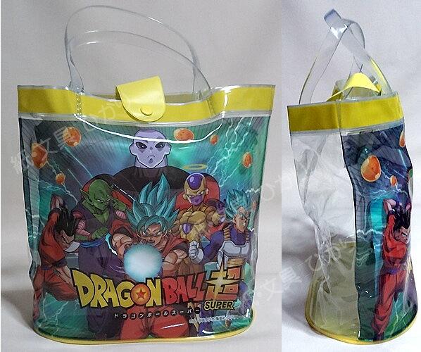 ドラゴンボール超(スーパー)「DRAGONBALLSUPER」楕円底プールバッグ(水着入れ)スイミングバッグ(中が見えにくい小物袋付)ビーチバッグ(dbs18-980)