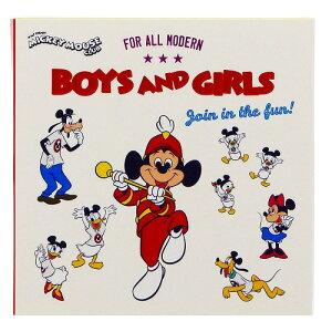 ディズニーミッキーマウス[DisneyMickyMouse]ミッキーマウスクラブ2ブック型付箋(ふせんメモセット)/W(S2817756)