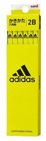 アディダス(AI06)[adidas]2019新学期鉛筆5607 6角 (2B)(かきかたえんぴつダース箱入)(K56072B)