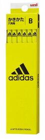 アディダス(AI06)[adidas]2019新学期鉛筆5607 6角 (B)(かきかたえんぴつダース箱入)(K5607B)