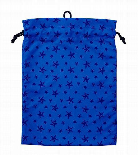 STAD2019新学期学校体操服袋(巾着袋L[きんちゃく]) ネイビー(ST118NB)