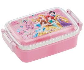 ディズニープリンセス[DisneyPrincess]食洗機対応ふわっとフタタイトランチボックス角型(仕切り付)(お弁当箱・おべんとうばこ)(RBF3AN/439797)