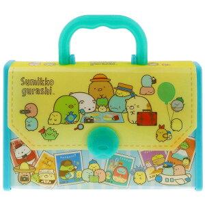 すみっコぐらしS/Gおえかきバッグセット(ぬりえ・うつしえ・クレヨンが入ったおでかけバッグ)(1061254A)