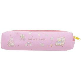 サンリオキャラクターズ[SANRIO]サンリオトラベルスリムペンケース(スリムだけどたっぷり入るペンポーチ/筆箱) P(ピンク)(S1421468)