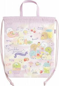 すみっコぐらしS/Gハッピースクールナップサック(巾着袋[キンチャク大/体操服バッグ])(CA08002)