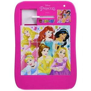 ディズニープリンセス[DisneyPrincess]できるんです!(お出掛けに最適な「バラバラにならない9ピーススライドパズル」)(5222429B)