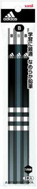アディダス(AI)[adidas]鉛筆(かきかたえんぴつ3本パック)_B_黒(K7018AI24B3P)