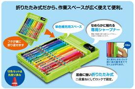 PONKY Pencil(ポンキーペンシル 12色セット)800ポンキー 12C ST 308(K800PK12CLT)