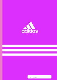 アディダス(AI)[adidas]7mmA罫ノート(B5)_ピンク(A01230AAI.13)