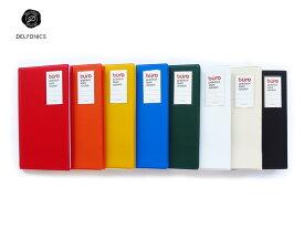 【カードケース】DELFONICSデルフォニックスBURO ビュローカードファイルS 500080(FF20)全8色