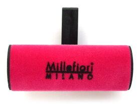 【ルームフレグランス】MillefioriミッレフィオーリカーエアーフレッシュナーカーフレグランスVELLUTO ベルートCDIF-E-004グリーンティ