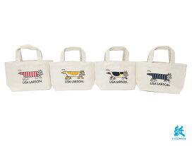 【トートバッグ】Lisa Larsonリサラーソンミニトートバッグ全4色
