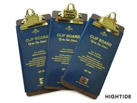 【クリップボード】HIGHTIDE ハイタイドPENCO ペンコクリップボード O/Sゴールド チェックDP160