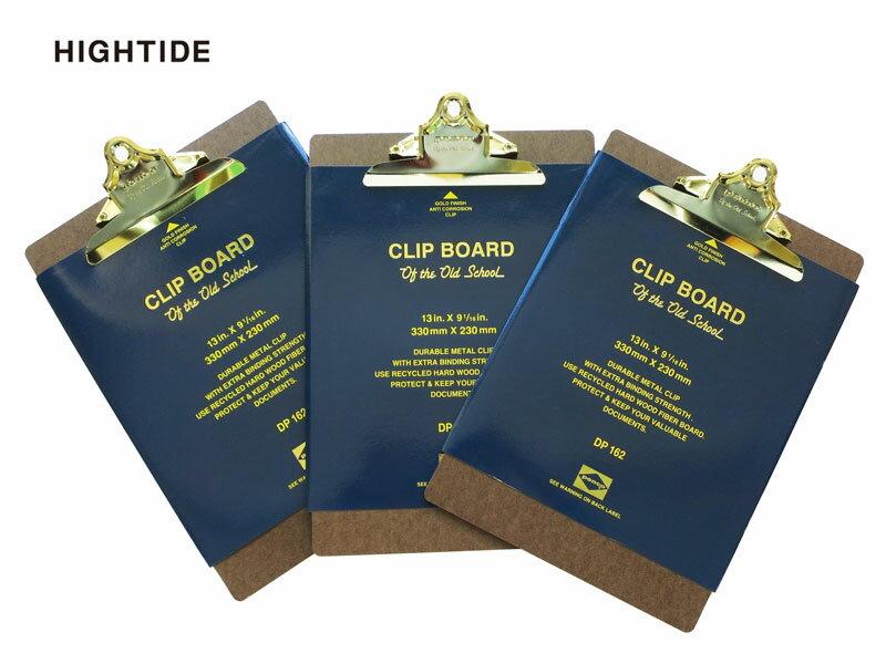 【クリップボード】HIGHTIDE ハイタイドPENCO ペンコクリップボード O/Sゴールド A4DP162