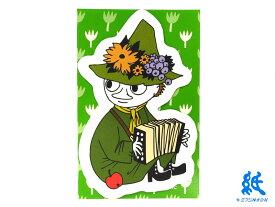 【ネームカード】ムーミンmoominネームカードスナフキン E20-1061袋(12枚)〜