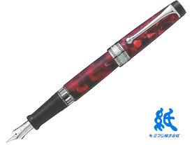 【万年筆】AURORAアウロラオプティマ 996-CX 万年筆 バーガンディ14Kペン先 F・M・Bリザーブタンク付