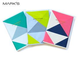 【ダイアリー手帳】MARK'S マークスダイアリー手帳 B6マンスリージオメトリック・パターン2017年9月はじまり2019年1月版