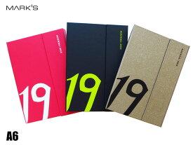 【ダイアリー手帳】MARK'S マークスダイアリー手帳 A6 ウィークリーレフトマグネット192018年10月はじまり2019年12月版