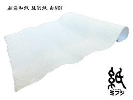 【越前和紙】強制紙(手漉き)白 NO1