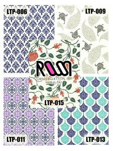 【クラフト紙・包装紙】ROSSI(ロッシ)LTP-006/009/011/013/0155枚入り
