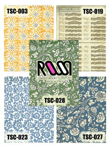 【クラフト紙・包装紙】ROSSI(ロッシ)TSC-003/019/023/027/0285枚入り