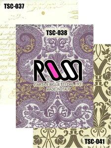 【クラフト紙・包装紙】ROSSI(ロッシ)TSC-037/038/0415枚入り