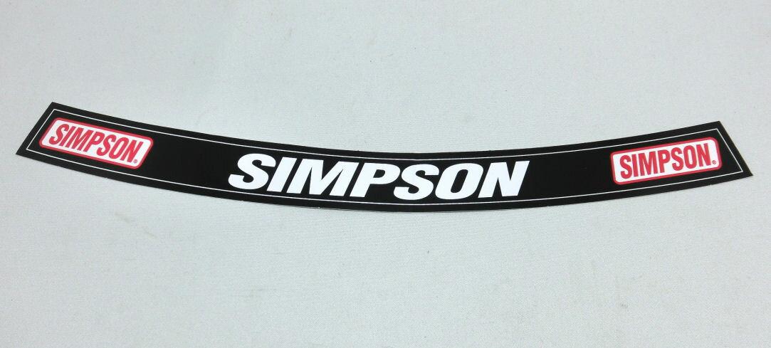 SIMPSON (シンプソン) USA 純正 シールドステッカー 並行輸入品