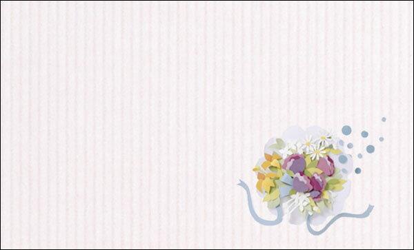 【DMM-046-L】100枚パック 気軽に使える名刺サイズのメッセージカード デザインメッセージカードミニ ミニメッセージカード【ネコポス対応商品】