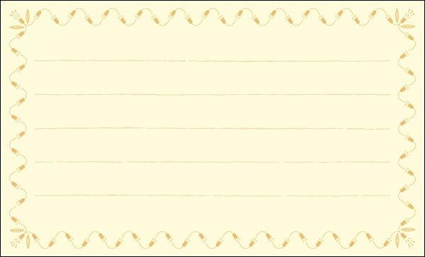 【DMM-062-L】100枚パック 気軽に使える名刺サイズのメッセージカード デザインメッセージカードミニ ミニメッセージカード【ネコポス対応商品】