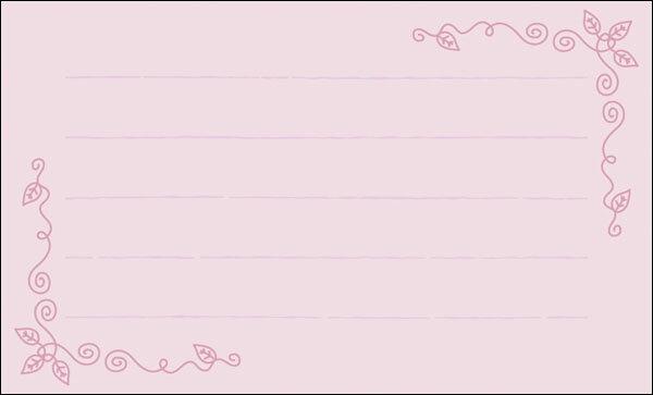 【DMM-065-L】100枚パック 気軽に使える名刺サイズのメッセージカード デザインメッセージカードミニ ミニメッセージカード【ネコポス対応商品】