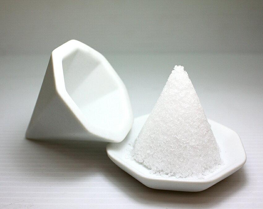 【盛塩セット】八角盛り塩セット 小/素焼き八角皿5枚付き ◎