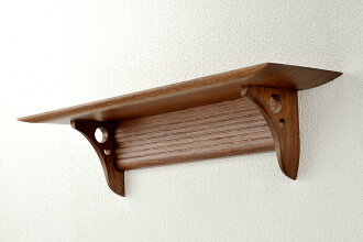 Western-style modern altar plate Kurumi came less solid walnut-queuger