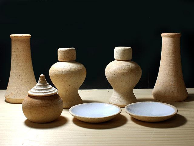 神具:陶工の作った自信の逸品 安土神具セット