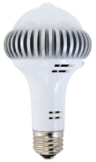 New!停電しても1時間点灯を持続するLED電球「レス球」【人感センサー付き(昼光色)】RESN-N88M-1W