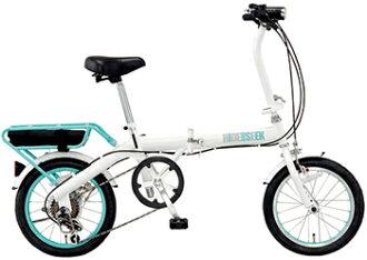 Jeep 牧马人体育 16 英寸折叠自行车 6 速链盖标准配备吉普牧马人体育 (流行性乙型脑炎-166 G) 红绿黑街骑链涵盖作为标准。 简单和紧凑的折叠自行车