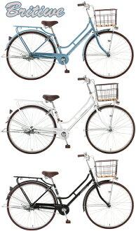 佛罗伦萨风格 26 寸自行车特里鞍 & 切在链盖铁丝篮 & 后方承运人购物 & 通勤 & 通勤到市周期禧玛诺 6 速齿轮裙子太放心 S 形框架
