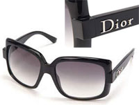 Christian Dior クリスチャンディオール サングラスブラック ブラックグラデーションめがね メガネ 眼鏡SUNGLASS60S1 807 LF