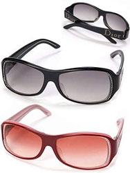 Christian Dior クリスチャンディオール サングラスラインストーンロゴ SUNGLASSブラック×グレーグラデーション 1/F AZJ LFレッド×レッドシェード  1/F AZK TX眼鏡 めがね メガネ
