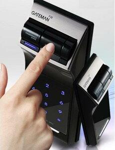 もう鍵を持ち歩く必要は無し!鍵を失くす&忘れる心配も無し!指紋認証式デジタルドアロック電子ロック 指紋認証式電子錠 玄関錠指紋認証や暗証番号入力で開錠バックライトやオート