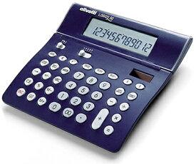 シックトーンスタイル計算機 ダークネイビーブルー×グレー仕事場でもデザインにコダワルならコレ欧州デザイン カリキュレーター 電卓液晶部角度調整可能有機的な直線が印象的なの電卓程良い押し加減のキータッチと独特なデザイCalculator