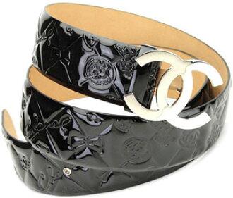 chanel belt. chanel chanel belt black enamel patent leather symbol charm icon line unisex men and women for cc buckle coco mark belts