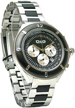 DOLCE&GABBANAドルチェ&ガッバーナ 腕時計 レクリックヘレンD&G TIME watch Le clic Herren DW0423SLBKブラック×シルバー 日付表示 クロノグラフドルガバ ディー&ジー メンズ