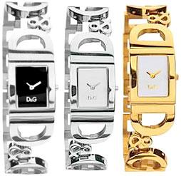 D&G 腕時計ドルガバ アナログウォッチ アイルランドブラック×シルバーホワイト×ゴールドホワイト×シルバーDOLCE&GABBANA IRLANDDW0494 DW0495 DW0499ディー&ジーレディースドルチェ&ガッバーナアクセサリー ブレスレット