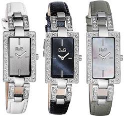 D&G CANNES ドルガバDOLCE&GABBANAドルチェ&ガッバーナ ウォッチカンヌ ラインストーンフレームスクエアフェイスブラック DW0556ホワイト DW0558グレー DW0557カンヌ 腕時計レザーベルトsquare shapeレディース 女性