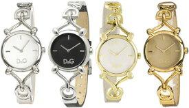 D&G 腕時計ドルガバ アナログウォッチ フロックブラック×シルバーホワイト×ゴールドライトピンク×シルバーDOLCE&GABBANA FlockDW0496BKDW0498 DW0497PKSLDW0500WHGDディー&ジーレディースドルチェ&ガッバーナ