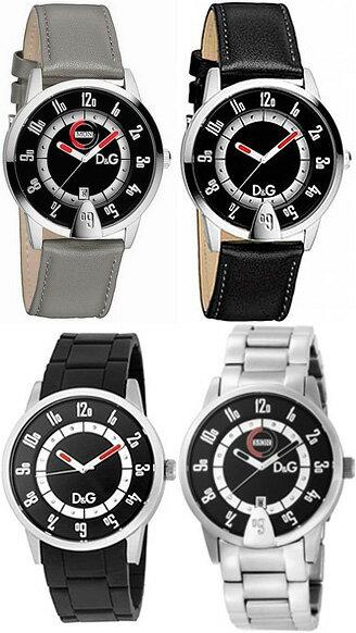 DOLCE&GABBANA 腕時計ドルチェ&ガッバーナ メンズウォッチブラックレザーベルト DW0622グレーレザーベルト DW0623ステンレスベルト DW0624ブラックラバーベルト DW0626D&G WATCH ASPENドルガバ アナログディー&ジー アスペン 男性用