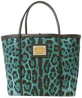 29afc6d0ef DOLCE  GABBANA denim canvas tote bag slim Leopard Leopard print Leopard  green x black BB1564-A8D31-8S678 d  amp  g Dolce  amp  Gabbana D  amp  G d   amp  ...