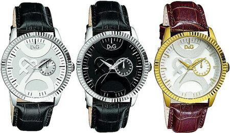 DOLCE&GABBANA 腕時計ドルチェ&ガッバーナ ウォッチ日付け表示ブラック×シルバー DW0695ブラック×ブラック ブラウン×ゴールドDW0696BKBKDW0697BRGDD&G WATCH TWIN TIPドルガバ アナログディー&ジー ツインチップ男性用 メンズ